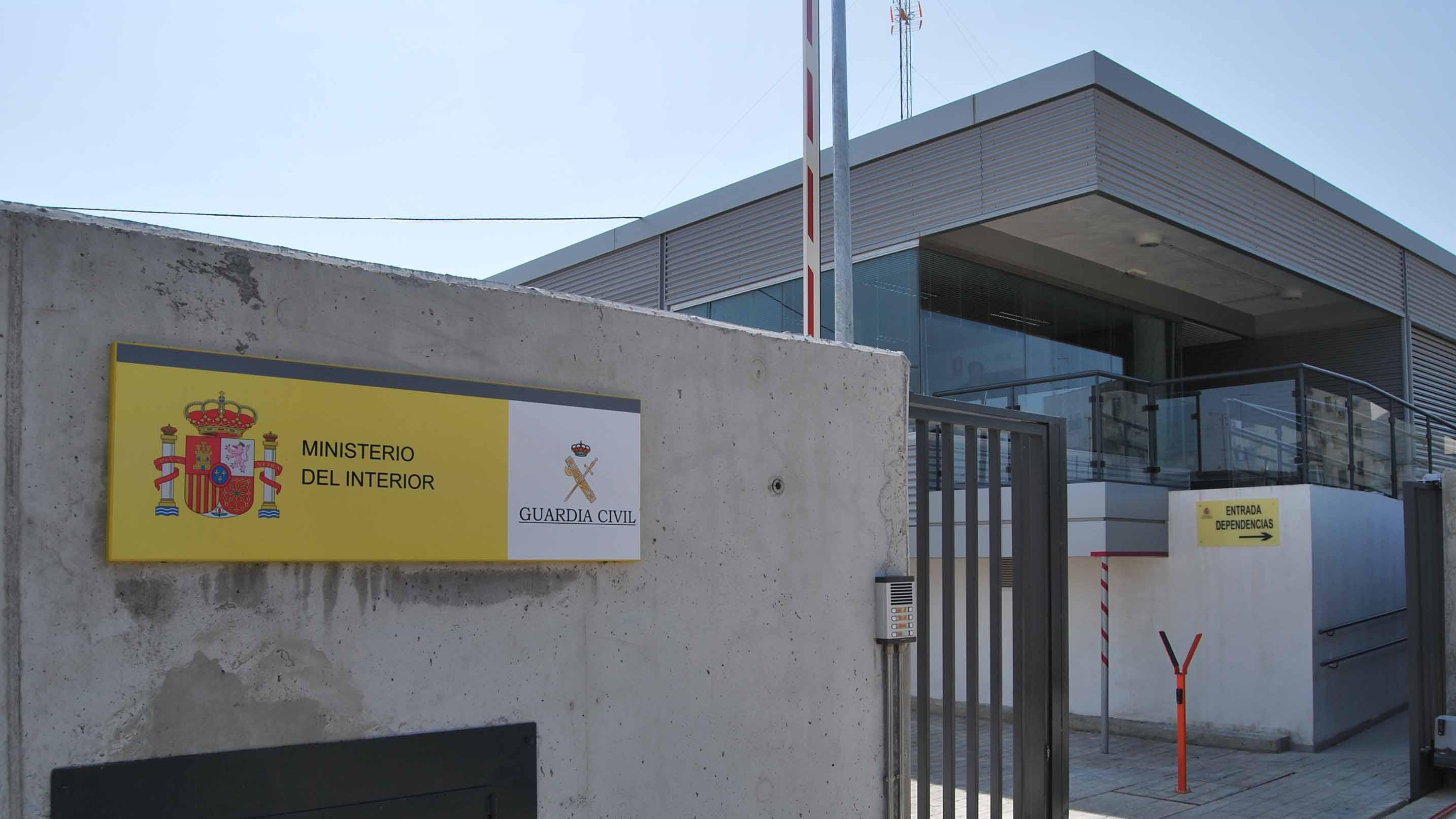 Las instalaciones del Cuartel de la Guardia Civil de Utrera