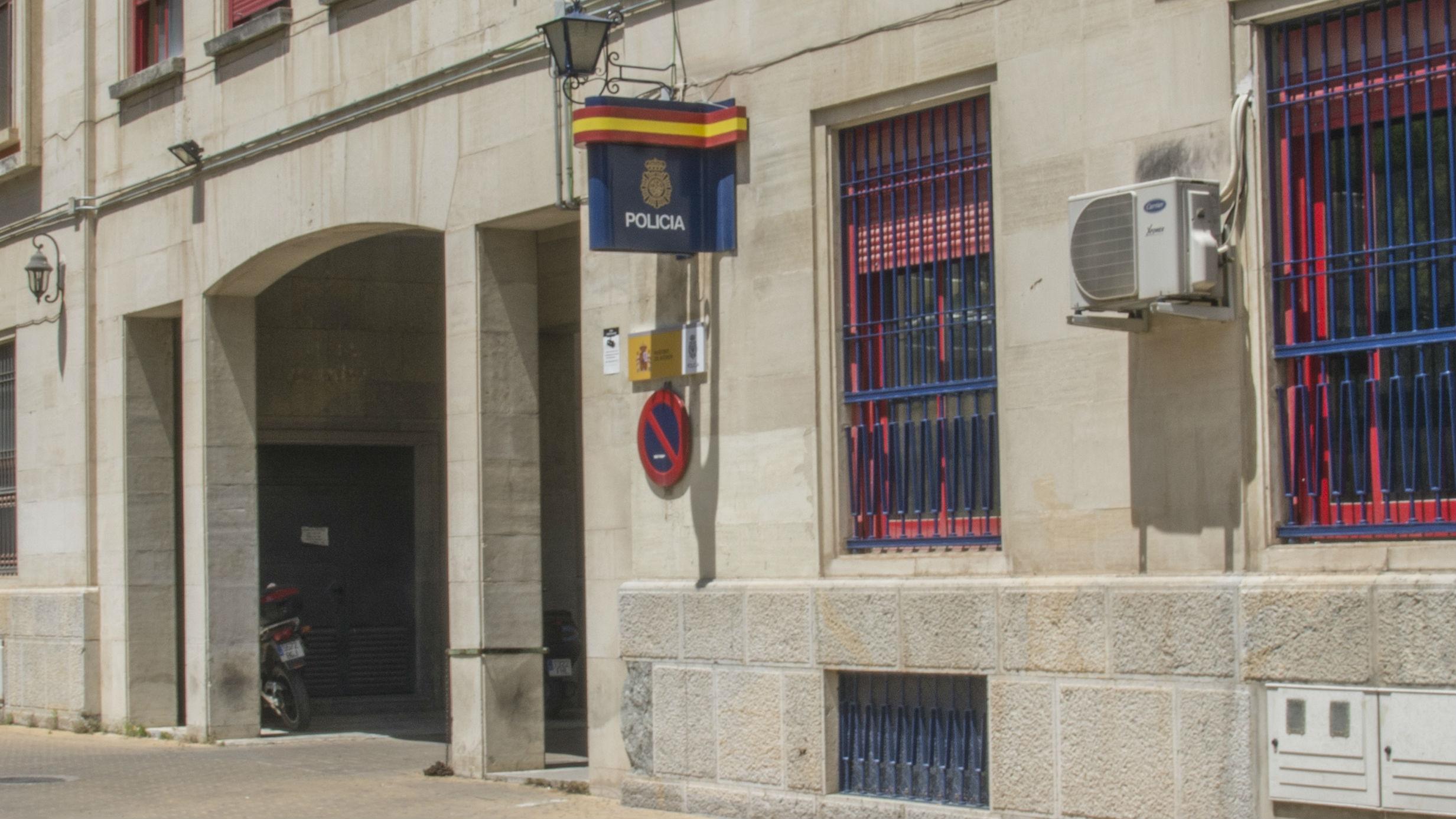 Sede de la Comisaría de la Policía Nacional en Jaén