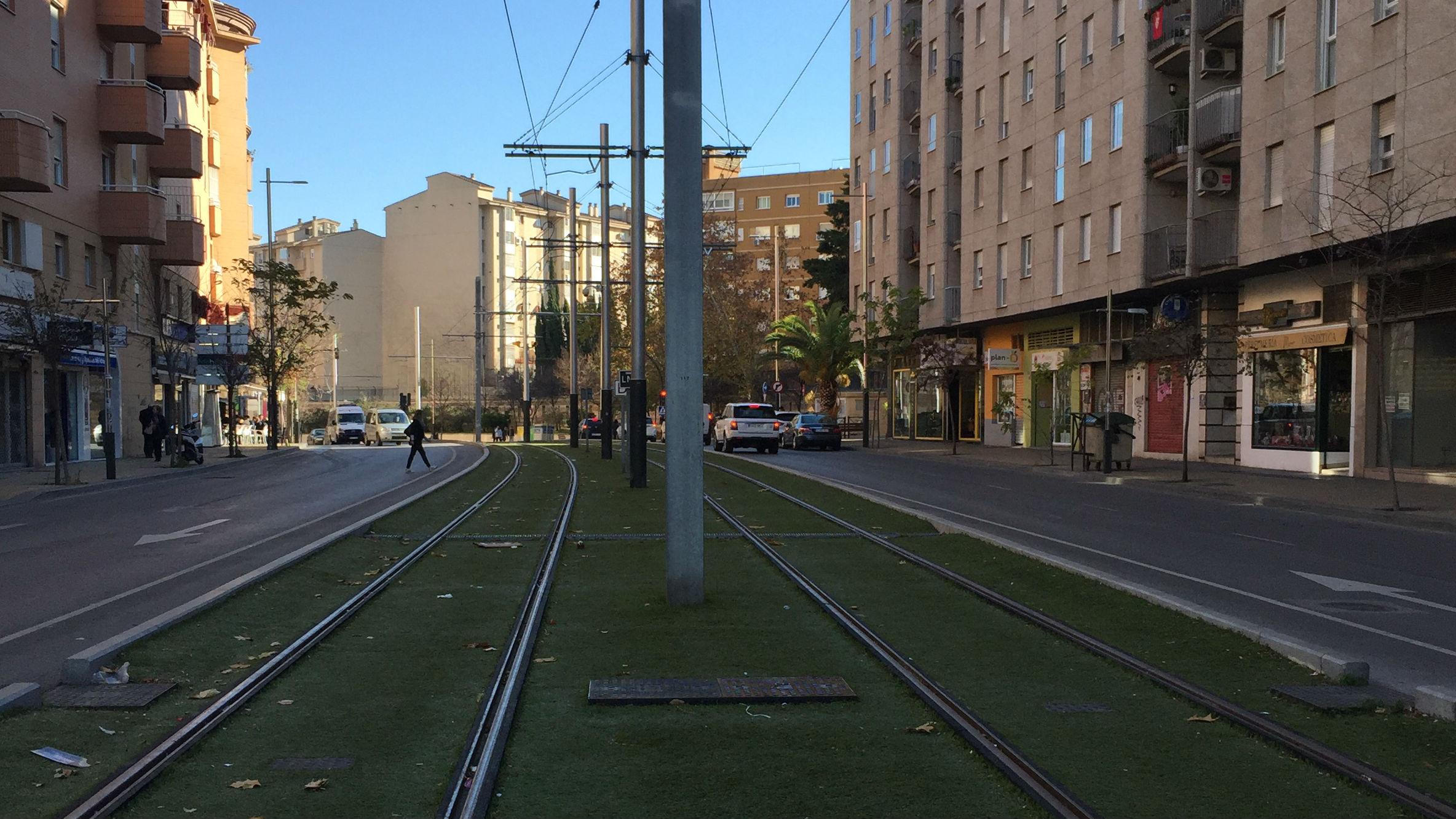 La reactivación del tranvía de Jaén queda en suspenso si el PGOU sigue paralizado