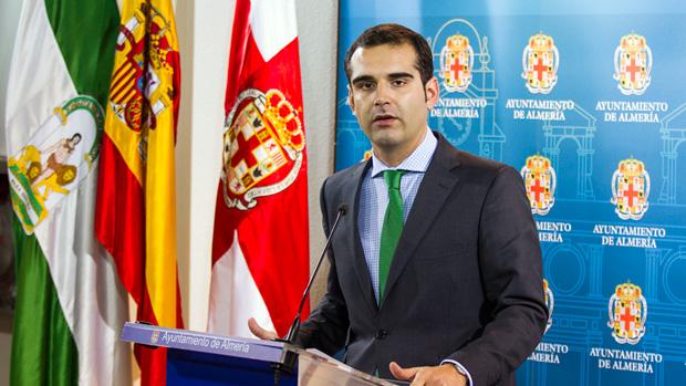 Ramón Fernánez-Pacheco, alcalde de Almería