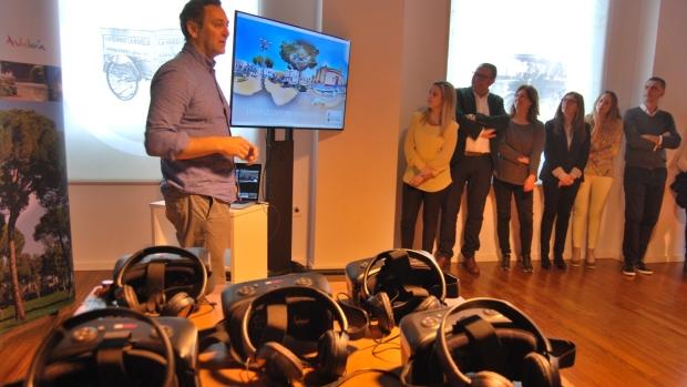 Las gafas de realidad virtual completarán la visita al molino del Algarrobo