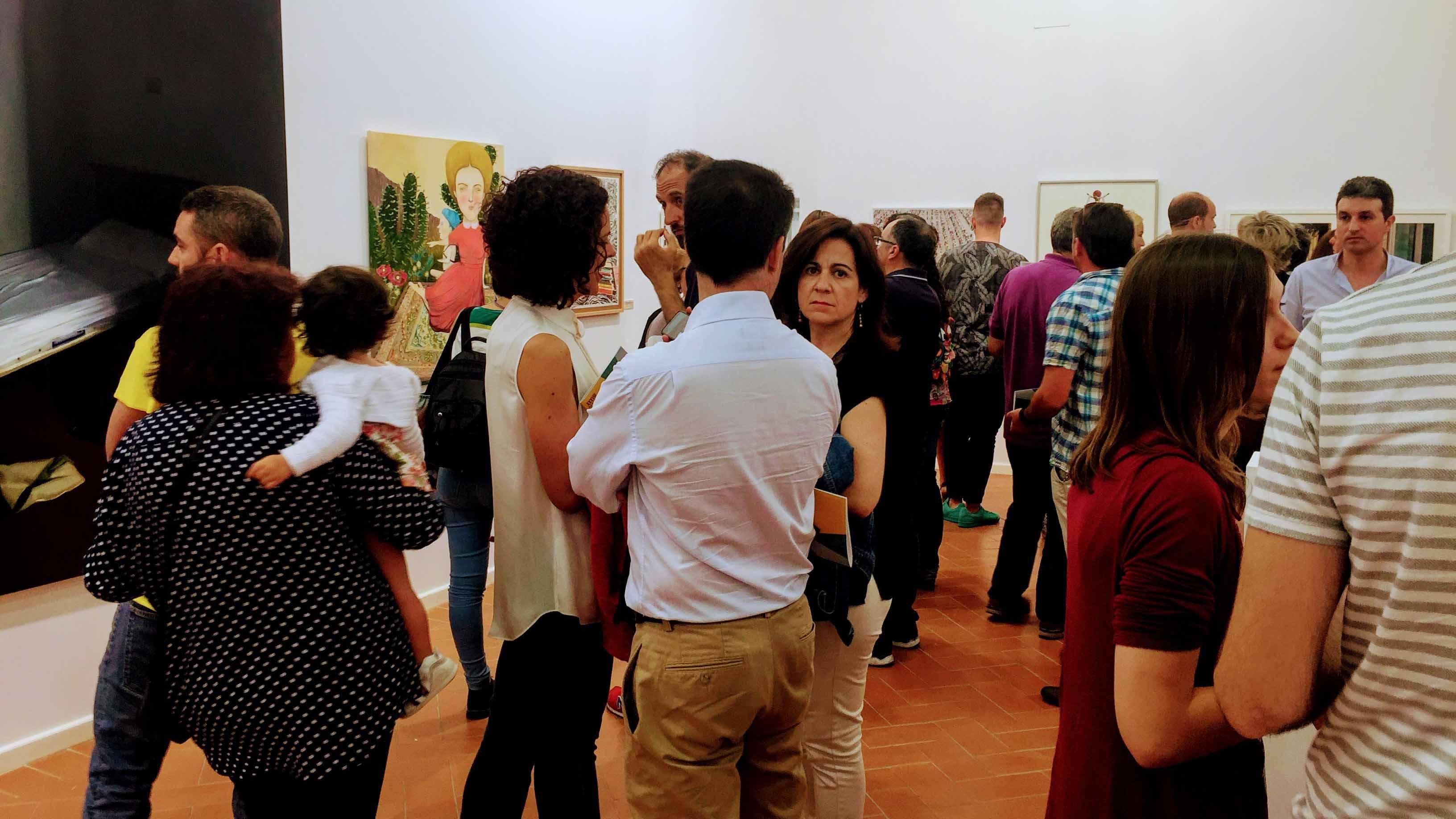 Todos los años Utrera se convierte en una referencia para los amantes del arte