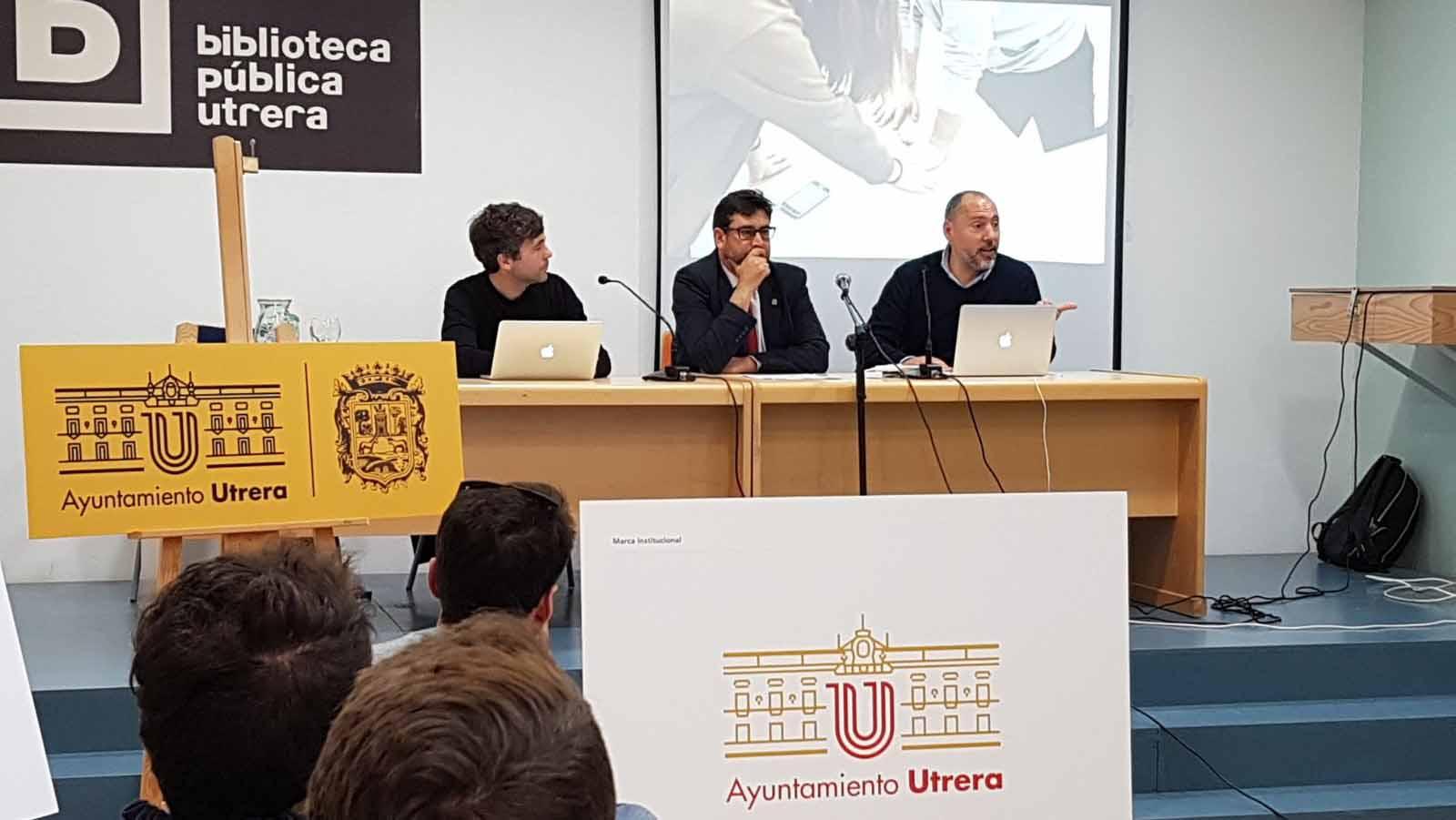 La presentación de la nueva identidad corporativa del Ayuntamiento de Utrera