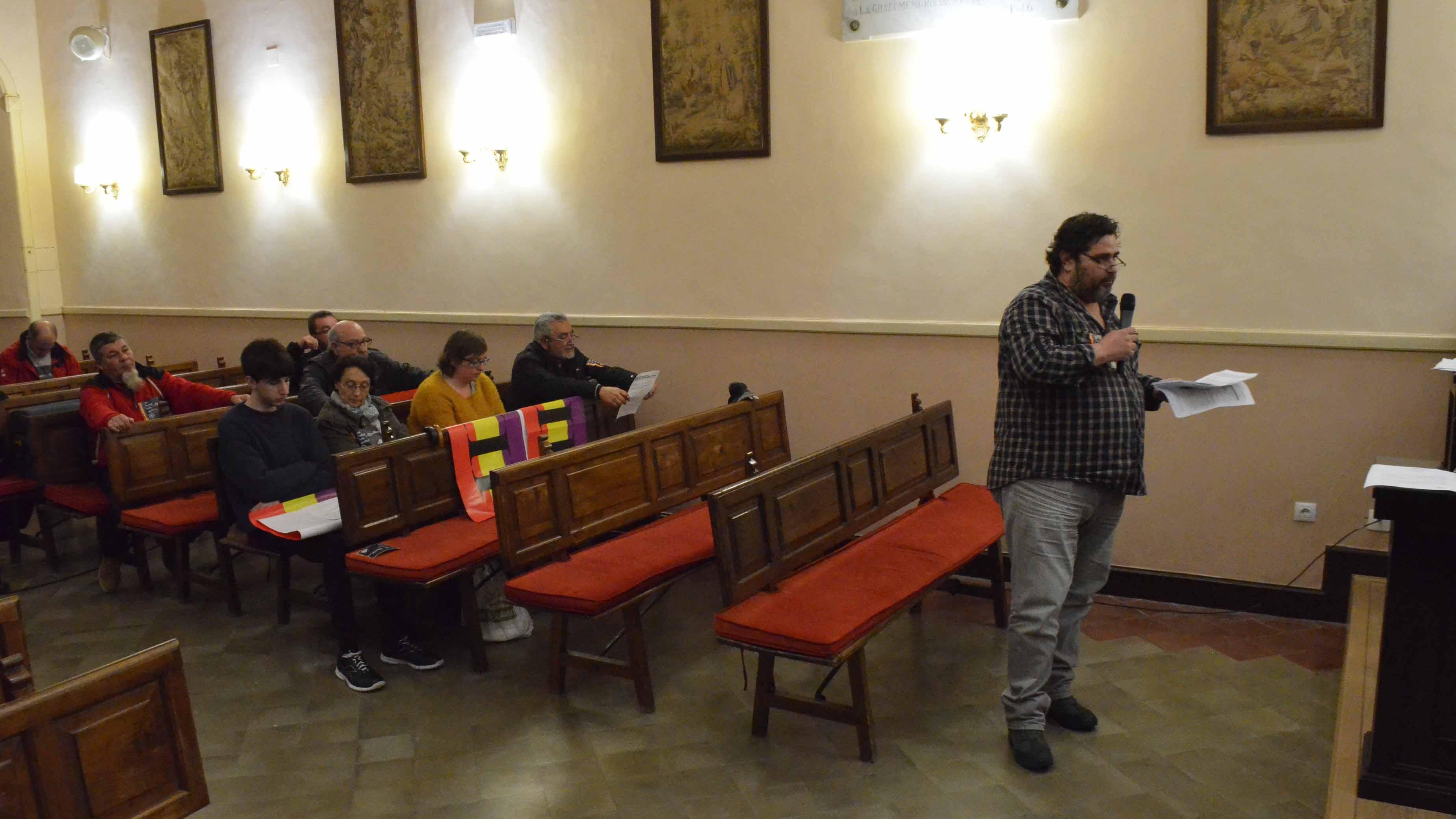 Pepe Cuenca habló en el pleno de Utrera en nombre del foro «Construyendo RedPública»