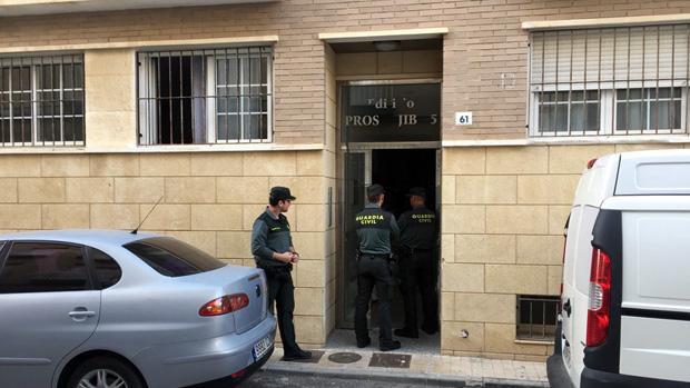 Edificio donde tuvo lugar el crimen
