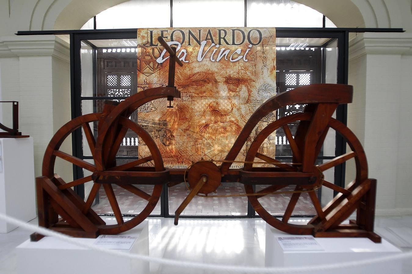 Los inventos de leonardo da vinci en la casa de la ciencia for Vinci una casa