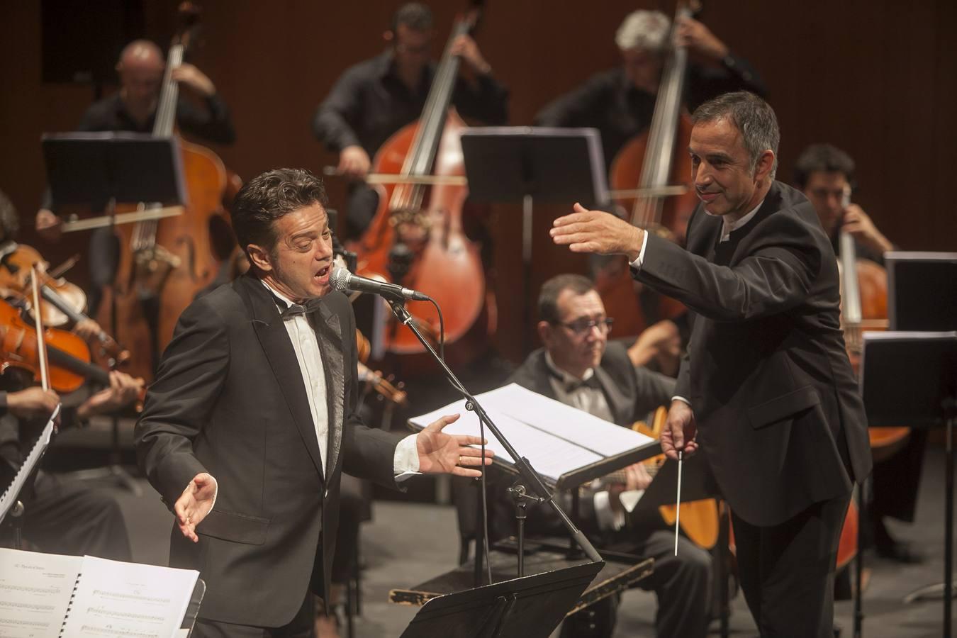 Estampas del concierto de santiago auser n con la orquesta for Concierto hoy en santiago