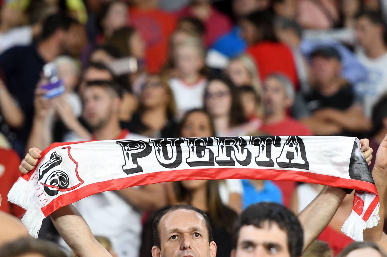 La victoria del Sevilla FC ante la Roma, en imágenes