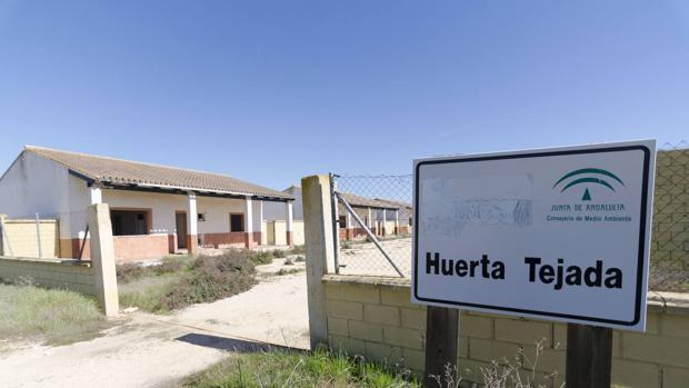 Estado de abandono de Huerta Tejada