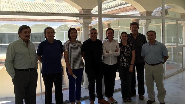 Miembros de la comisión técnica del Centro Andaluz de Arte Contemporáneo