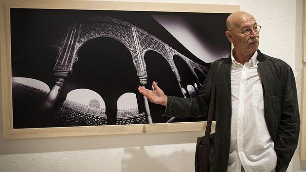 El director del Centro Andaluz de la Fotografía, Pablo Juliá