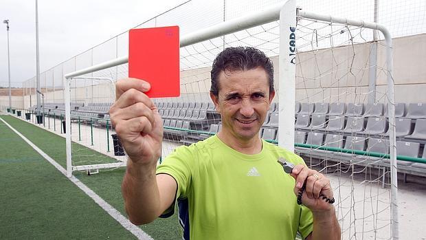 Imagen de una campaña contra la violencia en el fútbol