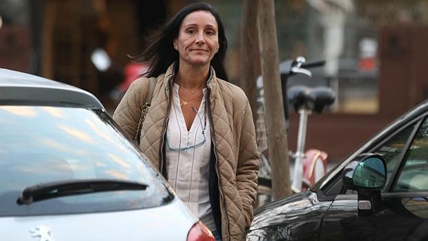 María Núñez Bolaños, a su llegada al juzgado