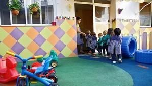 Menores en una guardería