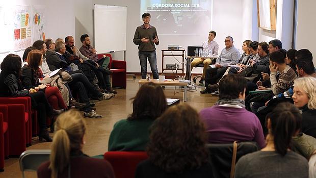 Un momento del foro de Córdoba Social Lab, celebrado ayer