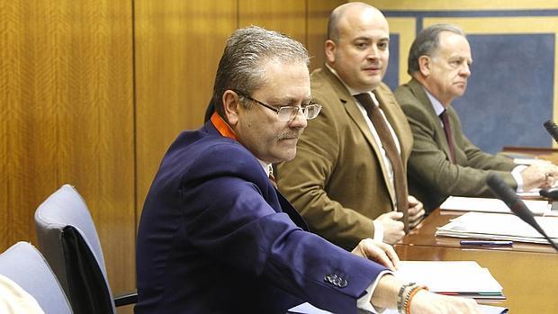 Antonio Escudero, en su comparecencia en la comisión de investigación de los cursos de formación