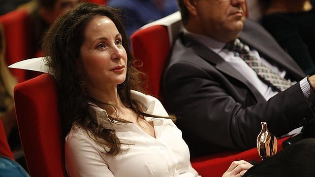 La juez Mercedes Alaya, en un reciente acto en la Universidad Complutense