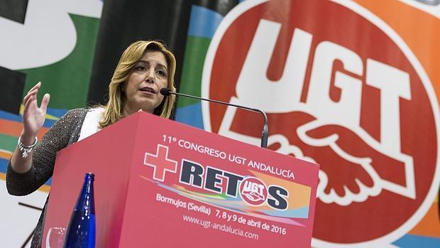 Resultado de imagen de junta de andalucia y ugt