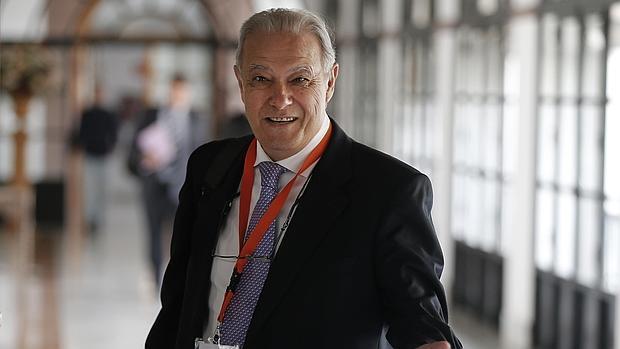 El exconsejero de Hacienda, Ángel Ojeda