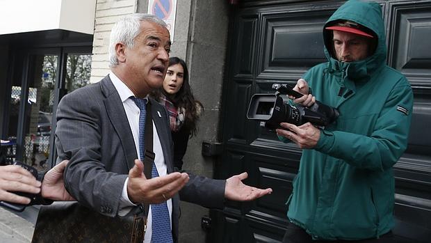Luis Pineda, tras su detención hace una semana en Madrid