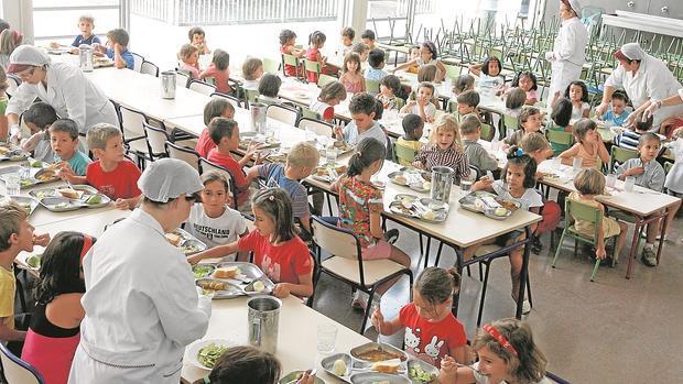 C rdoba a la cola de andaluc a en comedores escolares y aulas matinales - Comedores escolares malaga ...