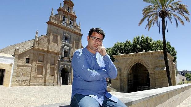 Pedro García, en la plaza de la Fuensanta