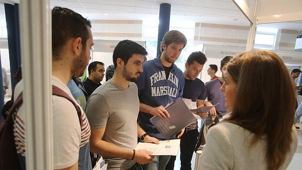 Alumnos durante una de las sesiones