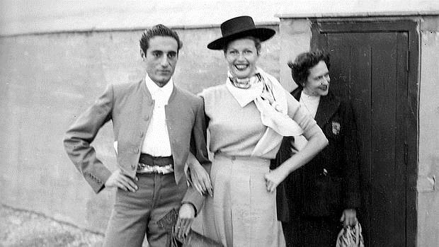 El Litri, con Rita Hayworth, en Huelva