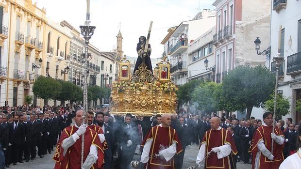 Procesión de Nuestro Padre Jesús Nazareno, de Priego