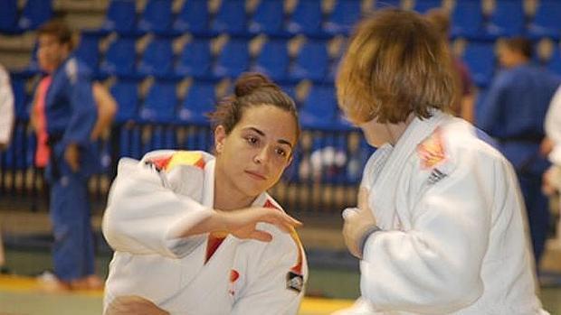 La judoca cordobesa Julia Figueroa