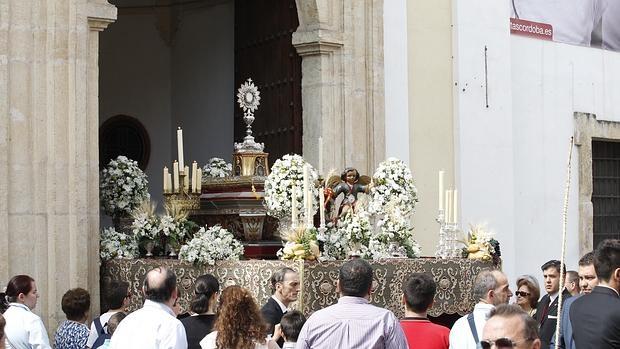 Resultado de imagen de San Vicente Ferrer celebrará su Procesión del Corpus cordoba