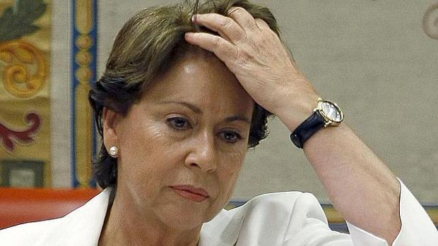 La exconsejera Magdalena Álvarez