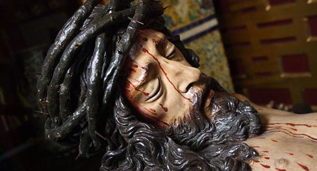 Cristo de la Buena Muerte de Lima, obra de Juan de Mesa