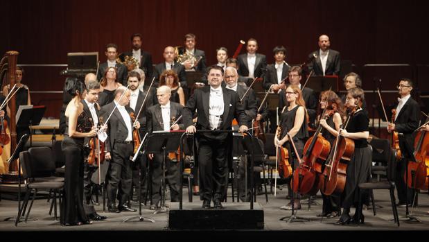 La Orquesta de Córdoba, durante un concierto reciente