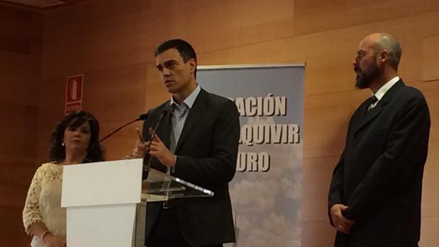 Acto de Pedro Sánchez en la Guadalquivir Futuro en noviembre