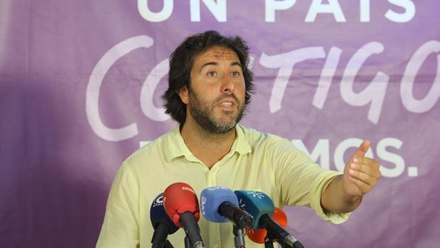 Jesús Rodríguez, durante su comparecencia