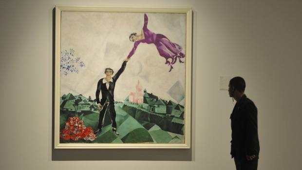 Uno de los cuadros de la muestra del Museo Ruso de Málaga