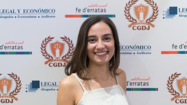 La joven universitaria de Córdoba Lucía Aparicio