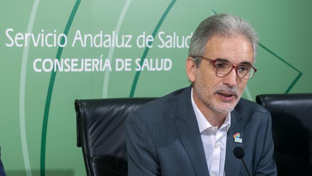 El consejero de Salud de la Junta, el socialista Aquilino Alonso