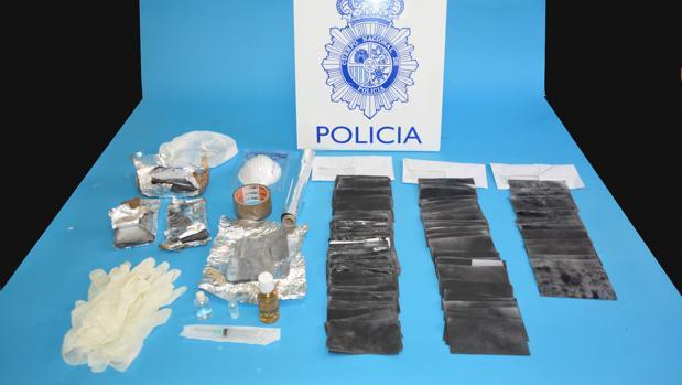 Efectos intervenidos por la Policía Nacional