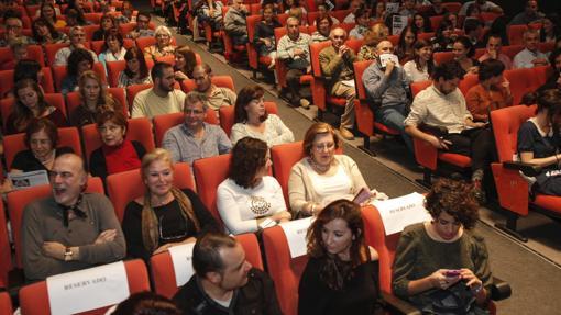 Una de las salas de la Filmoteca de Andalucía en Córdoba