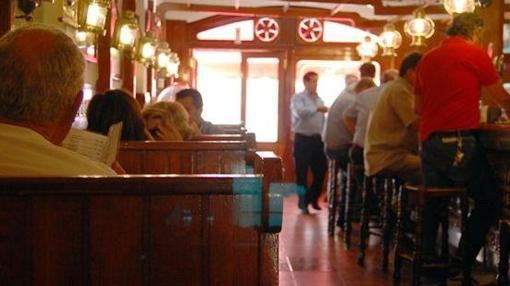 El Timón no sólo ofrece buena comida, sino que su local tiene un imagen singular