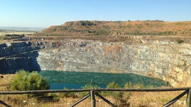 Imagen de la mina de Aznalcóllar