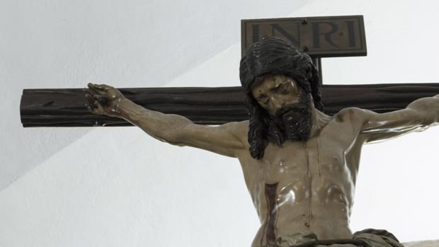 El Cristo de la Buena Muerte que hoy venera la cofradía de los Estudiantes