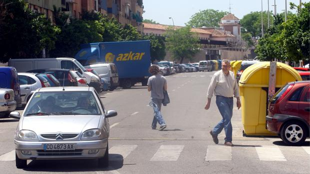 Bloques en el barrio de la Fuensanta