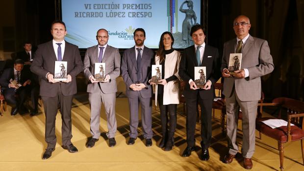 Los galardonados por la Fundación Caja Rural del Sur
