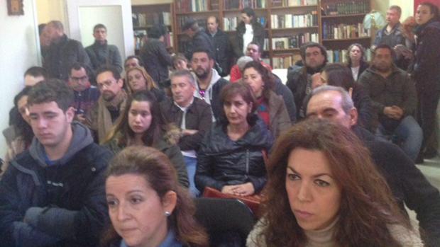 Imagen de la reunión de este sábado en Sevilla