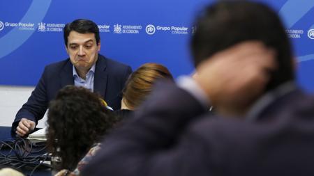 José María Bellido, en rueda de prensa