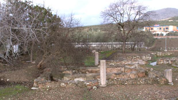 Imagen de una villa romana en la localidad de Cabra