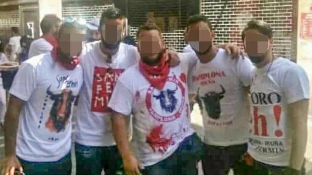 Foto de algunos de los implicados en los abusos a la joven de Pozoblanco